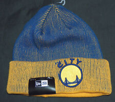 NEW ERA GOLDEN STATE WARRIORS DUBS ADULT OSFA THE CITY KNIT BEANIE HAT SKULL CAP