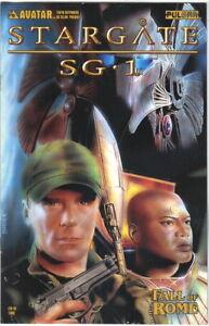 Stargate Fall of Rome Comic Book Prequel Tauri Ltd Cover Avatar 2004 NEAR MINT