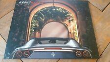 Brochure FERRARI 812 GTS : pochette avec 5 planches + calque / FR
