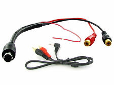 Alpine AI-Net AUX entrada 3.5 mm Jack Plomo RCA Adaptador Coche Radio Ipod MP3 CT29AL02
