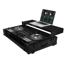 ProX Fitted Case for Pioneer DDJ-SZ DDJ-SZ2 DDJ-RZ All Black w/ Laptop Glide