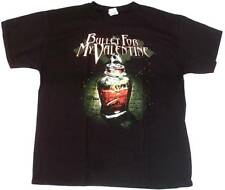 Official BULLET FOR MY VALENTINE POISON Heavy Metal Skull T-Shirt XL/XXL