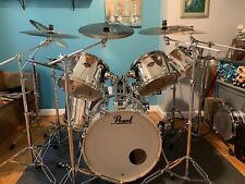 Pearl Exports Chrome 6-piece w/Sabian Cymbals & extras
