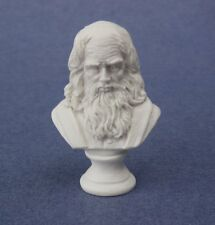 Miniature Dollhouse Leonardo Da Vinci Statue Bust 1:12 Scale New