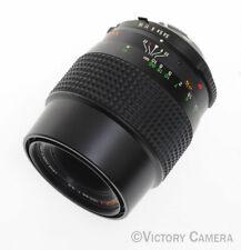 Minolta MD Rokkor-X 100mm f3.5 Macro Lens w/ 1:1 Tube -Clean- (729-4)