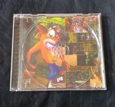 Crash Bandicoot PS1 PS2 PS3 PlayStation 1 Rear Case Artwork Only - No Game!