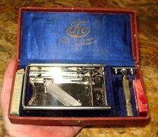 Rasierhobel tto-DRP cuchillas de afeitar abriendo abziehapparat peluquero barbero museo