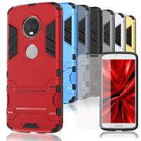 Mobile Case+Screen Protector For Motorola Moto G6 Phone Shell Bumper Hard Cover