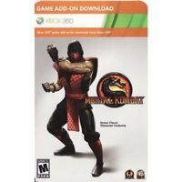Mortal Kombat Ermac Classic Costume DLC Card XBOX 360