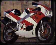 Bimota Yb8 Furano 2 A4 Metal Sign Motorbike Vintage Aged