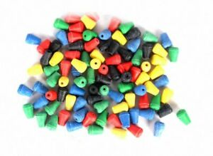 100pcs Colorful Space Beans Floating Seat Fishing Tackle Accessorie