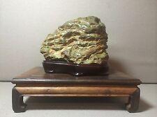 Natural polished Viewing stone suiseki- amazing Jiulongbi super texture specimen