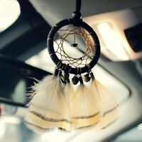 Dream Catcher Small Bronze Bells Wind Chime Car Pendant Home Wall Hanging Decor