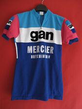 Maillot Cycliste vintage GAN Mercier Hutchinson 70'S Cycles - 2 / S