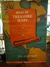 Atlas of Treasure Maps - Coffman - Over 3000 Sites of Sunken of Buried Treasures