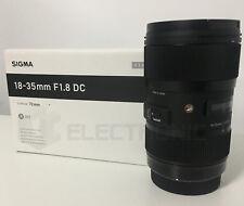 Sigma 18-35mm F1.8 DC HSM Objetivo Nikon - Negro