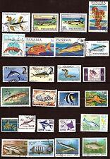 TOUS PAYS Les poissons de mer,crevettes, hippocampe   291T1