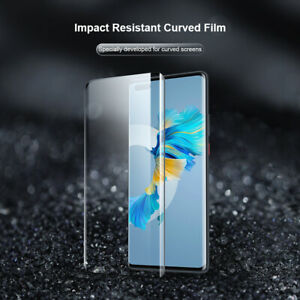For Huawei Mate 40 / Pro Pro+ / RS Impact Resistant Anti-Fingerprint Curved Film