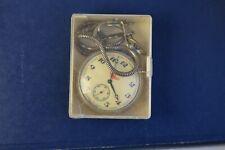 Molnija Ship Sub Second 18 Jewels USSR Pocket Watch Cal.3602 Circa 1960'