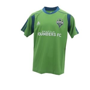 Seattle Sounders FC Official MLS Adidas Kids Youth Size Athletic Jersey New Tags