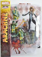 "ARACHNE (JULIA CARPENTER) Marvel Select 7"" inch Action Figure with Base 2014"