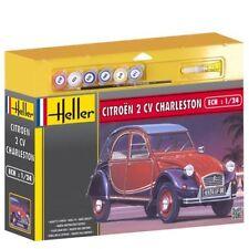 Kit de modelismo hel50766g - Heller 1:24 SET DE REGALO - CITROEN 2CV Charleston