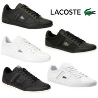 Lacoste Mens Chaymon Lace Up Trainers Designer Iconic Low Top Casual Pump Shoes
