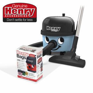 Henry Allergy HVA160 Corded Cylinder Vacuum + 10 HepaFlo Filter Bags