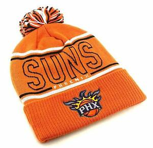 Phoenix Suns New Adidas PHX Cuffed Pom Orange Beanie Knit Toque Era Hat Cap