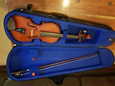 Stentor Half size beginners violin and bow, comes in a Stentor case, has been st