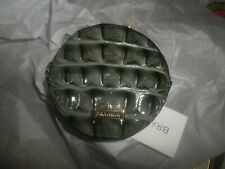 """Brahmin """"Circle Coin Purse Serpentine Melbourne"""" Gray Leather Wallet NWT"""