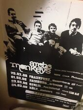 ARCTIC MONKEYS , LARGE GERMAN GIG POSTER , 2005