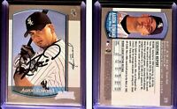 Aaron Rowand Signed 2000 Bowman #379 RC Card Chicago White Sox Auto Autograph