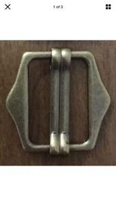 Waistcoat Buckle Antique Brass  / Bronze Tone Pack Size 1,2,5,10,25pcs