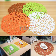 Felt Colorful Coaster Table Tablemats Placemats Home Kitchen Dinner Decoration