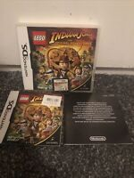 LEGO INDIANA JONES THE ORIGINAL ADVENTURES NINTENDO DS GAME WITH MANUAL