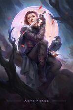 Arya Stark Poster - Game of Thrones Season 8 Wall Art Portrait - 11x17 13x19
