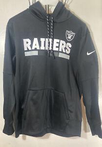 nike raiders hoodie dri fit On field team hoodie las vegas oakland L