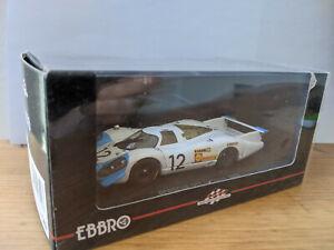 Ebbro 1/43 - Porsche 917 Le Mans 1969 N°12
