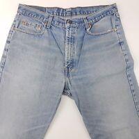 Levi's 615 Mens Vintage Jeans W38 L32 Light Blue Regular Fit Straight High Rise