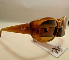 MAUI JIM LILIKOI MJ 258-22 SANDSTONE HCL BRONZE POLARIZED SUNGLASSES NEW