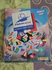 ALBUM PANINI FRANCE 98 COMPLET AVEC IRAN (FF98FF)