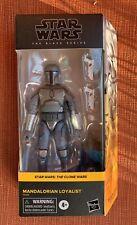"Star Wars The Black Series Mandalorian Loyalist 6"" Exclusive NEW In Hand"