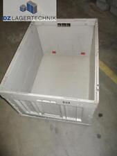Faltkiste FK 8450 SSI Schäfer Faltbox grau/blau Transportbox Klappbox 80x60x45cm