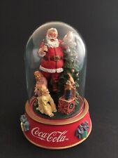 Vintage Coca Cola Limited Edition 1996 Christmas Santa Coke Franklin Mint