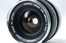 Canon FD 28mm F3.5 Lens SN19210