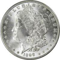 1888 $1 Morgan Silver Dollar Uncirculated Mint State