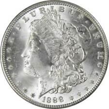 1888 $1 Morgan Silver Dollar Us Coin Bu Uncirculated Mint State