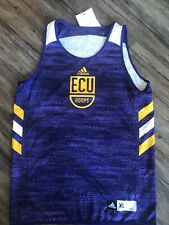 Ncaa East Carolina Pirates Adidas Purple Sample Jersey Xl Reversible Baskebtall