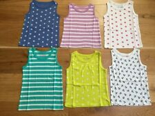 Mini Boden Girls' 100% Cotton Vest T-Shirts, Top & Shirts (2-16 Years)